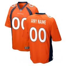 Denver Broncos Nike Personalizado Juego Camisetas - Naranja