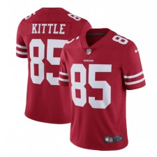 George Kittle San Francisco 49ers Nike Vapor Limited Camisetas - Escarlata