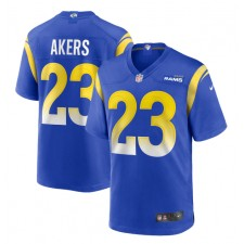 Cam Akers Los Angeles Rams Nike 2020 NFL Draft Pick Juego Camisetas - Real
