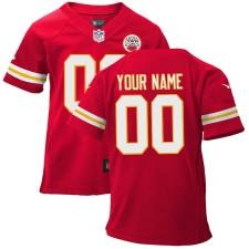 Nike Kansas City Chiefs Infant Personalizado Juego Team Color Camisetas