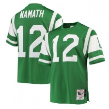 Joe Namath New York Jets Mitchell & Ness Authentic Retirado Jugador Camisetas - Verde