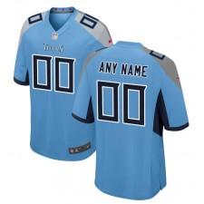Tennessee Titans Nike Alternate Personalizado Juego Camisetas - Azul Claro