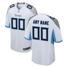 Tennessee Titans Nike Personalizado Juego Camisetas - Blanco