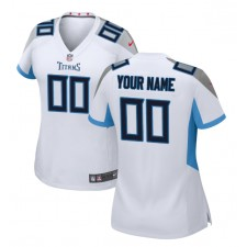 Tennessee Titans Nike Camisetas Personalizado para Mujer - Blanco