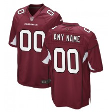Arizona Cardinals Nike Personalizado Juego Camisetas - Cardinal