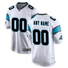 Carolina Panthers Nike Personalizado Juego Camisetas - Blanco