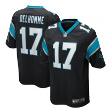 Jake Delhomme Carolina Panthers Nike Juego Jugador Retirado Camisetas – Negro