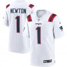 Cam Newton New England Patriots Nike Juego Camisetas - Blanco