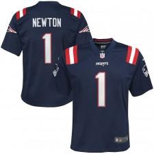 Cam Newton New England Patriots Nike Niños Juego Camisetas - Marina