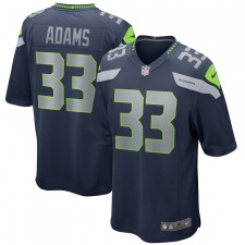Jamal Adams Seattle Seahawks Nike Juego Jugador Camisetas - Universidad Marina