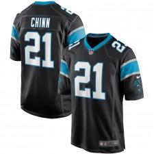 Jeremy Chinn Carolina Panteras Nike Juego Camisetas - Negro