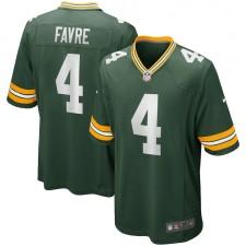 Brett Favre Green Bay Packers Nike Juego Retired Jugador Camisetas - Verde