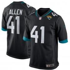 Josh Allen Jacksonville Jaguars Nike Juego Jugador Camisetas - Negro