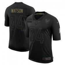 Camisetas Deshaun Watson Houston Texans Nike 2020 Salute To Service Limited - Negro