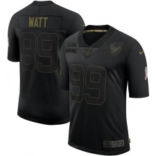 J.J. Camiseta Watt Houston Texans Nike 2020 Salute To Servicio Limitada - Negro