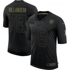 Alejandro Villanueva Pittsburgh Steelers Nike 2020 Salute To Service Limitada Camisetas – Negro