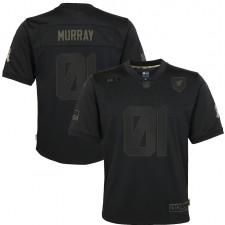 Kyler Murray Arizona Cardinals Nike Niños 2020 Salute to Servicio Juego Camisetas – Negro