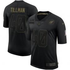 Pat Tillman Arizona Cardinals Nike 2020 Salute To Servicio Retirado Limitada Camisetas – Negro