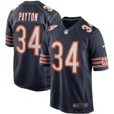 Walter Payton Chicago Bears Nike Juego Retirado Jugador Camisetas - Marina