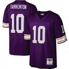 Fran Tarkenton Minnesota Vikings Mitchell & Ness Legacy Réplica 1975 Camisetas - Púrpura