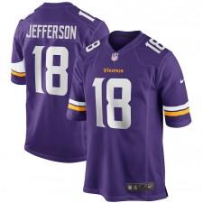 Justin Jefferson Minnesota Vikings Nike NFL Draft Primero Redondo Elegir Juego Camisetas - Púrpura