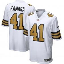 Alvin Kamara Nueva Orleans Saints Nike Alternate Juego Camisetas - Blanco