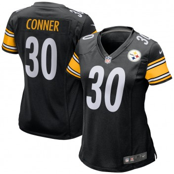 James Conner Pittsburgh Steelers Nike Camiseta de Juego femenino - Negro