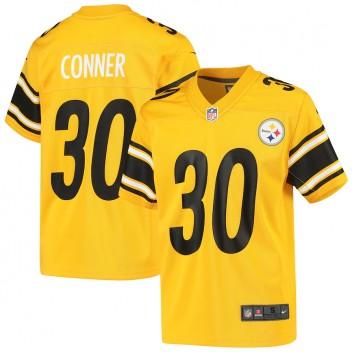 James Conner Pittsburgh Steelers Nike Niños Invertido Juego Camisetas - Oro