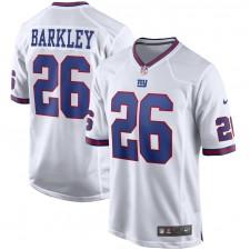 Saquon Barkley New York Giants Nike Alternate Juego Camisetas - Blanco