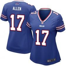 Josh Allen Buffalo Bills Nike Jugador de Juegos Femenino Camisetas - Real