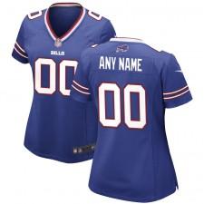 Buffalo Bills Nike Camiseta personalizada para mujer - Real