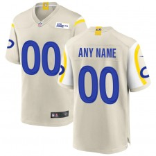 Nike Los Angeles Rams Personalizado Juego Camisetas - Hueso