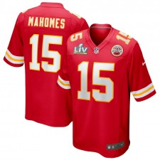 Patrick Mahomes Kansas City Chiefs Nike Super Bowl LV Bound Juego Camisetas - Rojo