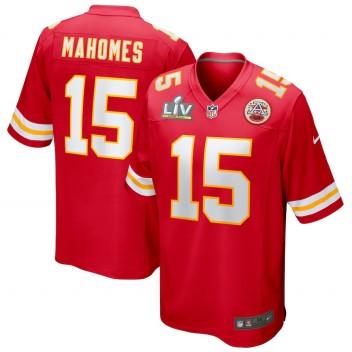 Patrick Mahomes Kansas City Chiefs Nike Super Bowl LV Bound Juego Camisetas - Rojo
