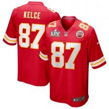 Travis Kelce Kansas City Chiefs Nike Super Bowl LV Límite Juego Camisetas - Rojo