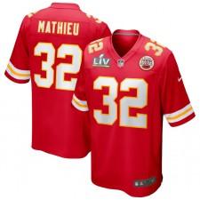 Tyrann Mathieu Kansas City Chiefs Nike Super Bowl LV Límite Juego Camisetas - Rojo