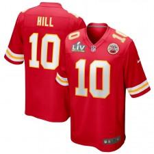 Tyreek Hill Kansas City Chiefs Nike Super Bowl LV Límite Juego Camisetas - Rojo