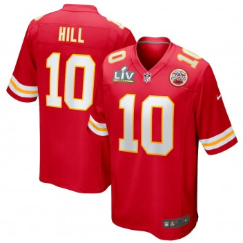 Tyreek Hill Kansas City Chiefs Nike Super Bowl LV Límite Juego Camisetas - Rojo