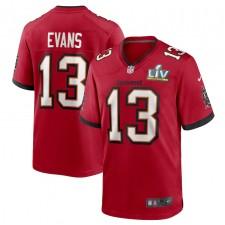 Mike Evans Tampa Bay Buccaneers Nike Super Bowl LV Camiseta de juego - Rojo