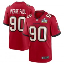 Jason Pierre-Paul Tampa Bay Buccaneers Nike Super Bowl LV Juego Camisetas - Rojo