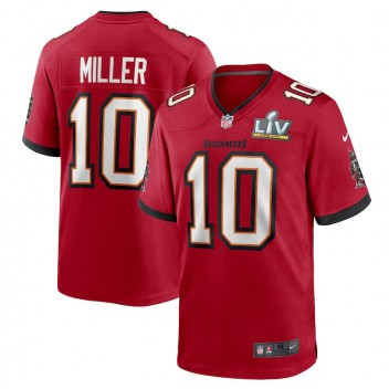 Scotty Miller Tampa Bay Buccaneers Nike Super Bowl LV Juego Camisetas - Rojo
