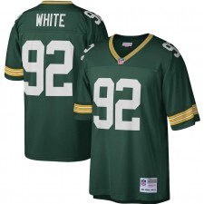 Reggie White Green Bay Packers Mitchell & Ness Legado Réplica Camisetas - Verde