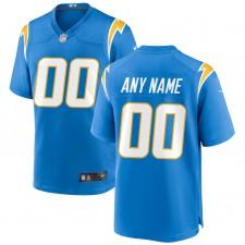 Los Angeles Chargers Nike Personalizado Juego Camisetas - Azul polvo
