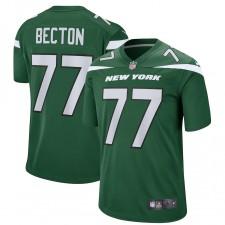 Mekhi Becton New York Jets Nike Jugador Juego Camisetas – Gotham Verde
