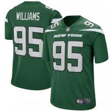 Quinnen Williams Nueva York Jets Nike Juego Jugador Camisetas - Gotham Verde