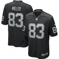 Darren Waller Las Vegas Raiders Nike juego jugador Camisetas – Negro