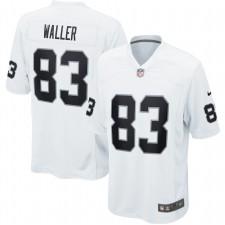 Darren Waller Las Vegas Raiders Nike juego Camisetas – Blanco