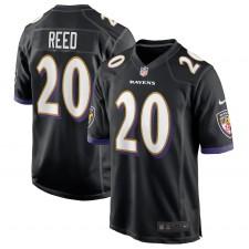 Ed Reed Baltimore Ravens Nike Camiseta De Jugador Retirado – Negro