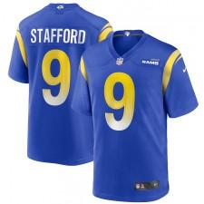 Matthew Stafford Los Angeles Rams Nike jugador juego Camisetas - Real