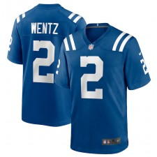 Carson Wentz Indianapolis Colts Nike jugador juego Camisetas - Real